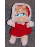 Vintage 1987 Jim Henson Muppet Babies Baby Miss Piggy Stuffed Plush Toy - $24.99