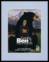 Gentle Ben 2 2002 Animal Planet 11x14 Framed ORIGINAL Advertisement Dean... - $22.55