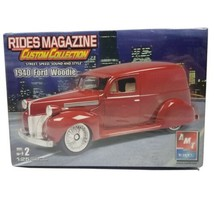 AMT ERTL 1940 Ford Woodie Rides Custom Collection 1:25 Model Car Kit 38257 - $27.99