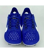 Nike Zoom Victory 3 Track & Field Running Spikes Blue/White 835997-411 S... - $64.35