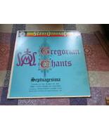 Gregorian Chants Septuagesima Record Album - $4.05