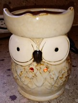 Owl Fragrance Warmer by Candle Warmers Wax Plug In - $19.79