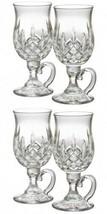 Waterford Lismore Irish Coffee Pair Two Pairs 4 Glasses #108068 New - $245.72