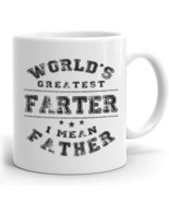 Funny Mug Gift for Dad World's Greatest Farter Father Birthday gift for ... - $18.95+