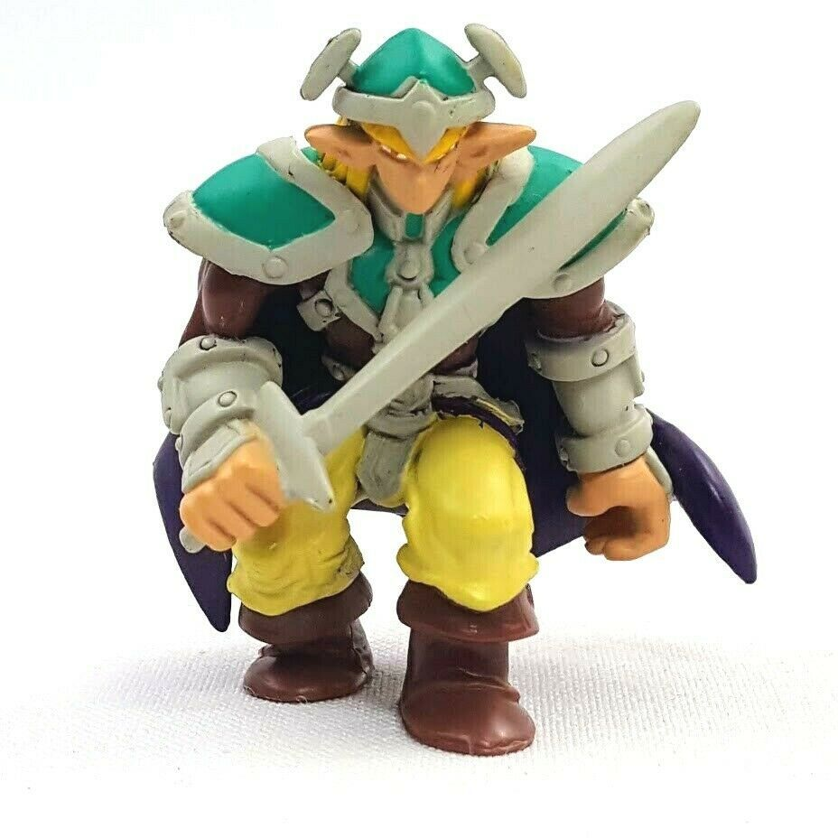 Yu-Gi-Oh 1996 Mattel Vintage Celtic Guardian PVC Mini Figure Takahashi Series 1 - $13.96