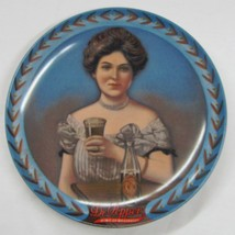 Dr. Pepper Girl Plate  - Nostalgia and shy Charm 1983 Certified Limited ... - $74.25