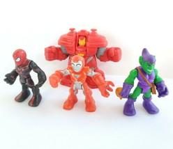 Marvel Imaginext Playskool Heroes Superhero SquadSpiderman Green Goblin ... - $24.99