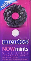 Mentos Now Mints Sugarfree, Wild Berry, Stocking Stuffer, Gift, Holiday,... - $27.45