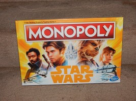 New! Monopoly Board Game: Star Wars Edition Free Shipping Hasbro Disney 8+ 2-4P - $19.79