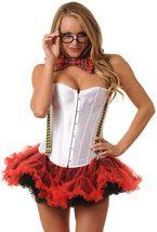 Teacher Nerd Love Roleplay Deluxe Corset Costume Set