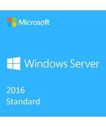 Windows Server 2016 Standard Version Full Retai... - $44.99