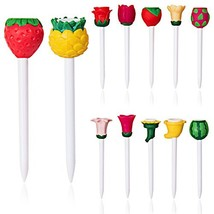 Golf Tees Fruit Flower Gift Lovely 12 Count The Best Personality Choice ... - $19.84