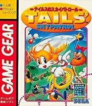 GAME GEAR TAILS' SKYPATROL No Box SEGA Works fully JAPAN Game USED - $98.01