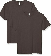 Aqua Guard Boys Heavyweight Combed Ring spun Cotton T-Shirt-2 Pack- Charcoal XS image 2
