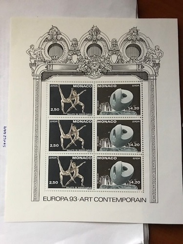 Primary image for Monaco Europa 1993 s/s mnh    #a                stamp