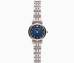 New Emporio Armani AR11222 Two Tone T-Bar Stainless Steel Women's Watch - $139.00
