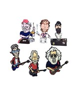 Grateful Dead Band Member caricature enamel 6 pin set - $59.49