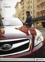 2011 Subaru LEGACY sales brochure catalog 2nd Edition US 11 2.5i GT 3.6R... - $8.00