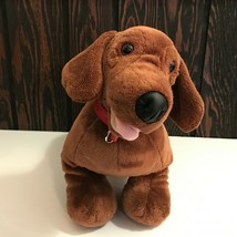 "Build A Bear Workshop Dachshund Dog 19"" Long Plush Stuffed Animal 2011 - $34.65"