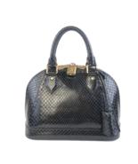 Louis Vuitton Black Python Alma BB Crossbody Bag - $2,999.00