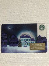 Starbucks Gift Card - NEW - HOLIDAY HOME UP ON THE ROOFTOP 2017 - $1.19