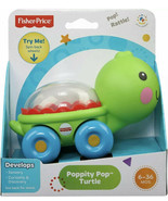 FISHER-PRICE Poppity Pop Turtle Push'n Pop Action New In Box - $12.75