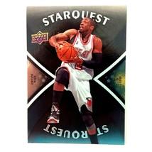 Dwyane Wade 2008-09 Upper Deck Starquest Majestic Black Insert Miami Hea... - $9.85