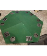 """Vintage Marlboro Unlimited 48"""" Folding Poker Table Top & Carrying Case - $39.55"""
