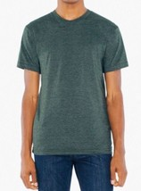 ORIGINAL American Apparel 50/50 Crew Neck Tee T-Shirt BB401 Heather Fore... - $6.53