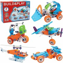 STEM Toys for Kids, 5-in-1 Building Project Set image 1