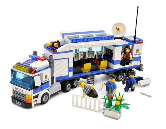 City Police Mobile Police Unit Blocks 407pcs Bricks Building Blocks Set Fit Lego, used for sale  USA