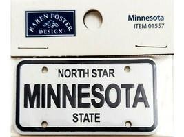 Karen Foster Design Minnesota License Plate Sticker #01557