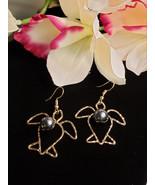 Honu Pearl Dangle earrings - $20.00