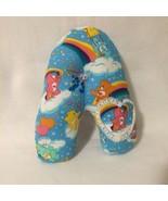 Blue Care Bear Tooth Fairy Pillow Heart Pocket for Tooth Handmade - $8.00