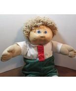 "Cabbage Patch Kids 16"", Xavier Roberts baby doll lt brown yarn hair 85 x... - $22.28"
