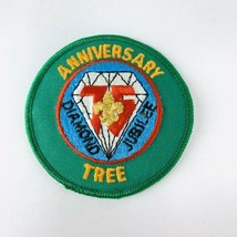 Vintage BSA Boy Scout Patch Mid America Council Diamond Jubilee Anniversary Tree - $19.00