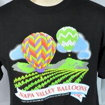 Napa Valley Hot Air Balloons Vtg T-shirt Medium M Yountville CA Wine Cou... - $23.11
