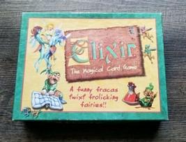 Elixir: The Magical Card Game - Mayfair Games 493 2000 RARE Sealed Compo... - $32.71