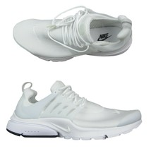 Nike Air Presto Essential Running Shoes Triple White Size 12 Mens 848187... - $108.85