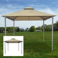 10' x 10' Backyard Gazebo Outdoor Patio Canopy Tent Dining Shace Shelter