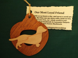 Dachshund Ornament personalized with your dog's name - $17.00
