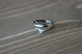 Adjustable Sterling Silver Dolphin Ring - $11.88