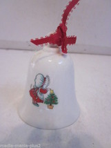 VINTAGE 1988 HALLMARK PORCELAIN BELL SISTERS KNOW HOW TO BRIGHTEN UP THE... - $9.99
