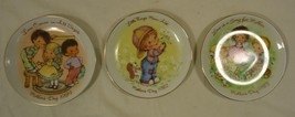 Avon 012-18a Vintage Mothers Day Plates 5in Qty 3 Porcelain - $18.45