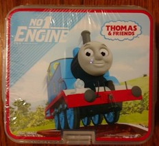 Thomas and Friends Double Decker Sandwich Container NIP Lunch Snack Travel - $8.42