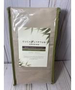 Eucalyptus Origins 100% Tencel Lyocell 600 Thread Solid King Pillowcases... - $19.80