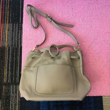 Zara Basic Women's Gray Bucket Bag - $32.65