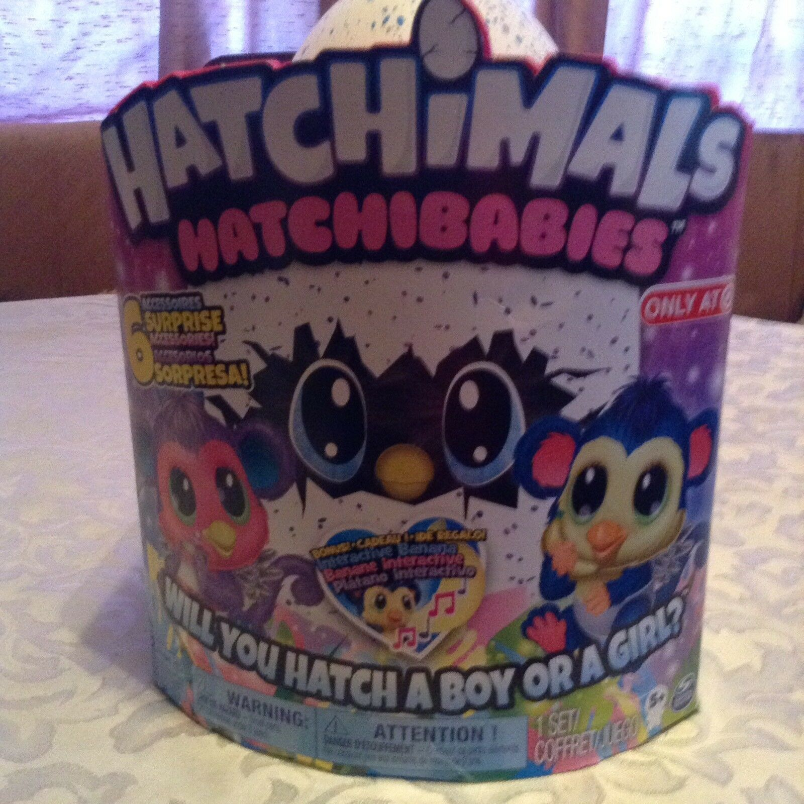 Hatchimals Hatchibabies Monkiwi hatching egg Target exclusive New