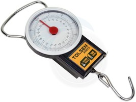 50Lbs 22kg Portable Travel Baggage Luggage Bag Scale Measuring Tape - $8.99