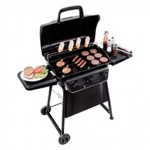 Clearance Stainless Steel Gas 3-Burner Grill Outdoor Patio Propane Cooke... - $241.51